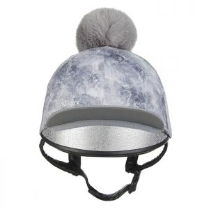 LeMieux Glacé Hat Silk – Grey