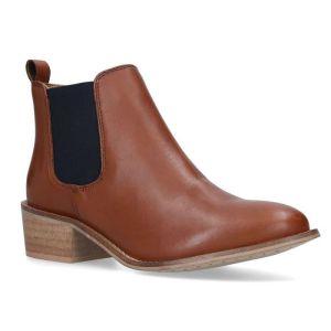 Silver Street Layla Dealer Boots - Cognac