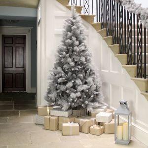 Premier Silver Tip Grey Fir Christmas Tree - 7ft