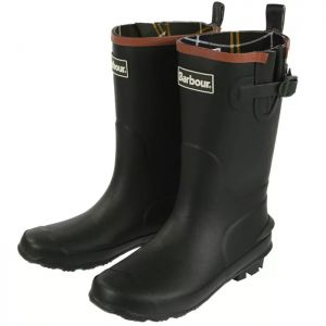 Barbour Children's Simonside Wellington Boots - Olive