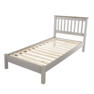 Stamford Grey Bed - Single