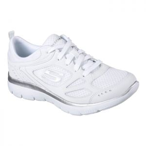 Skechers Women's Summits Suited Trainers – White