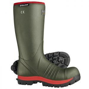 Skellerup Quatro® S5 Super Safety Insulated Wellington Boot - Green