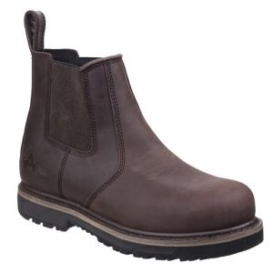 Amblers Men's AS231 Skipton Safety Dealer Boot - Brown