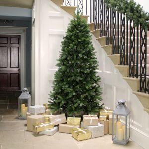 National Tree Newberry Spruce Slim Christmas Tree - 7ft