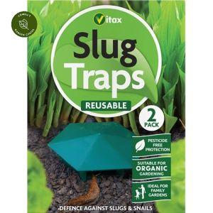 Vitax Slug Trap - Pack of 2