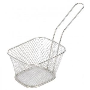 Chip Fryer Style Basket - Small