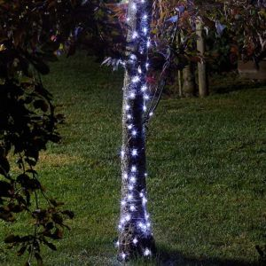 Smart Solar 100 Cool White Firefly LED String Lights