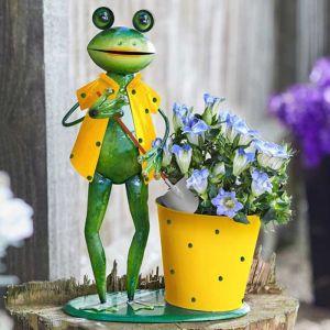 Gardening Frog Plant Pot