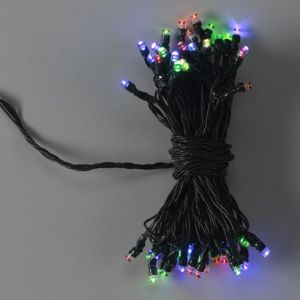 50 LED Multi Coloured String Lights