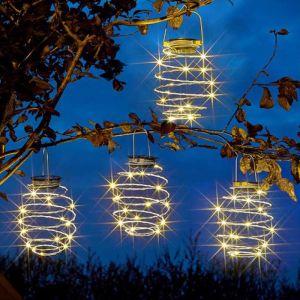 Smart Solar Spiralites Solar Lantern - Pack of 4