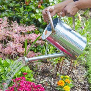 Smart Garden 4.5L Watering Can – Galvanised Steel