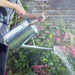 Smart Garden 9L Watering Can – Galvanised Steel