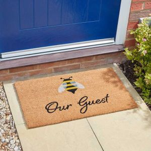 Smart Garden Bee Our Guest Doormat