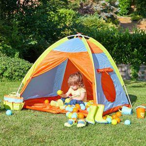 Smart Garden Children's Colourful Tent & 100 Balls