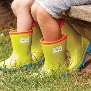 Smart Garden Children's Colourful Wellies – Green