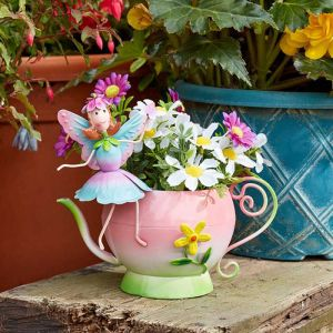 Smart Garden Elvedon Tea Fairy Teapot Planter
