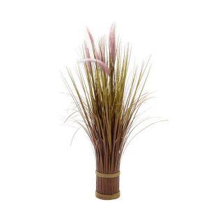 Smart Garden Lilac Grass Tails Faux Bouquet – 70cm
