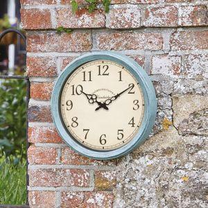 Smart Garden Outside In Cambridge Wall Clock
