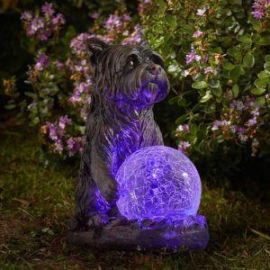 Smart Solar Bright Eyes Ornament – Mystic Dog