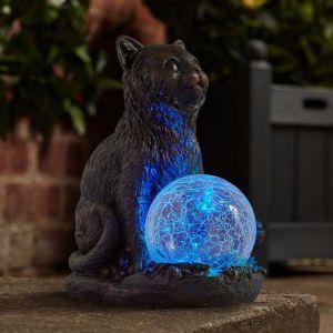 Smart Solar Bright Eyes Ornament – Mystic Mog