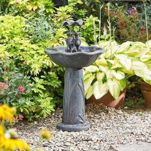 Smart Solar Frog Frolics! Fountain