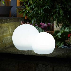 Smart Solar Lunieres Extra Large Orb Light