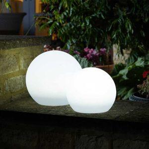 Smart Solar Lunieres Large Orb Light