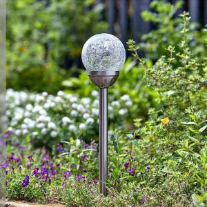 Smart Solar Majestic Stainless Steel Stake Lights – Pack of 5