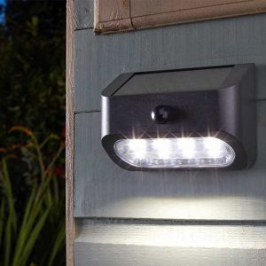 Smart Solar Premier 10L Wall, Fence and Post Lights – Pack of 4