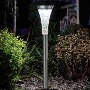 Smart Solar Sirius Stake Light – Stainless Steel