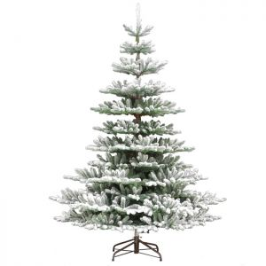 National Tree Snowy Imperial 'Feel Real' Christmas Tree - 7ft