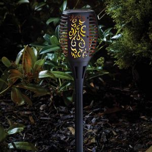 Smart Solar Cool Flame Solar Torch