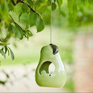 Burgon & Ball Sophie Conran Ceramic Bird Feeder - Pear