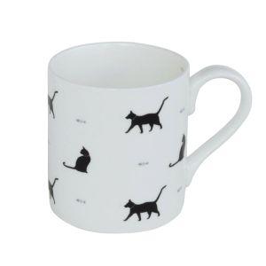 Sophie Allport Standard Mug - Black Cats & Bones