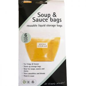 Planit Products Reusable Sauce and Soup Bag