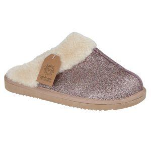 Jo & Joe Women's Sparkle Slippers - Rose
