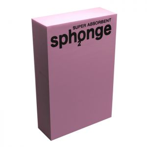 Sph2onge Original Super Absorbent Sponge – Pink