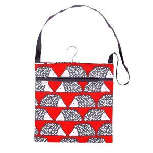 Dexam Scion Living Spike Wipe Clean Peg Bag - Red