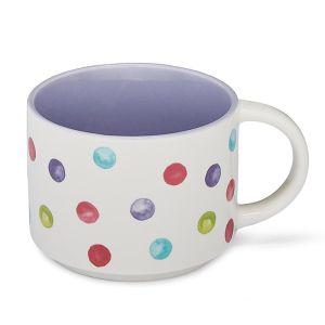 Cooksmart Purple Stacking Mug – Spotty Dotty