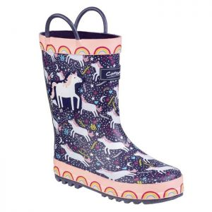 Cotswold Sprinkle Unicorn Kids Wellingtons
