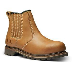 V12 Men's Stampede Safety Dealer Boot - Tan