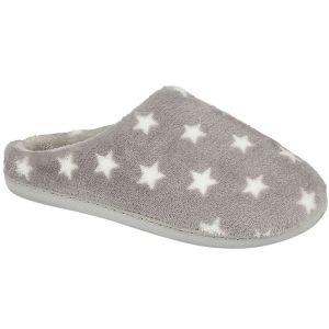 Jo & Joe Women's Starlight Mule Slipper - Grey