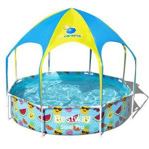 Bestway Steel Pro Splash-in-Shade Play Pool