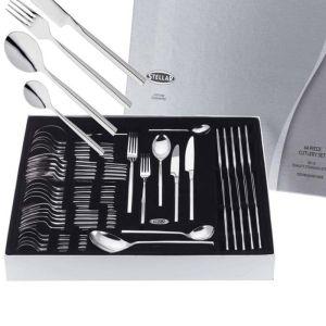 Stellar Rochester 44 Piece Cutlery Set - Polished