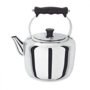 Stellar Stainless Steel Traditional Stove Top Kettle - 3.3 Litre