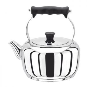 Stellar Stainless Steel Traditional Stove Top Kettle - 2 Litre