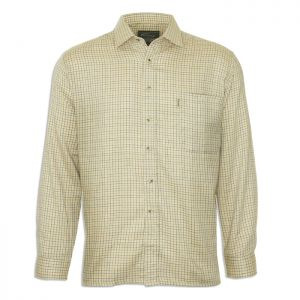 Champion Men's Cartmel Long Sleeved Shirt – Stone
