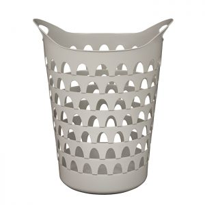 Strata Tall Flexi Laundry Basket - Cool Grey