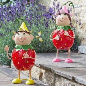 Smart Garden Strawberry Friends Garden Ornament